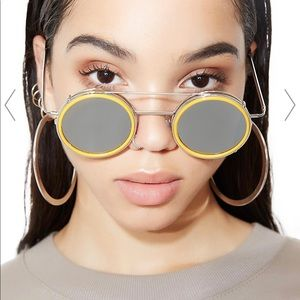 Spitfire yellow/gray sunglasses